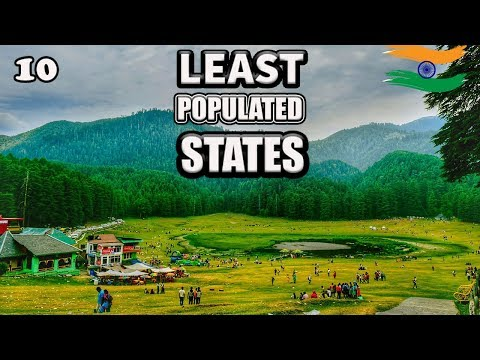 Top 10 Least Populated States In India