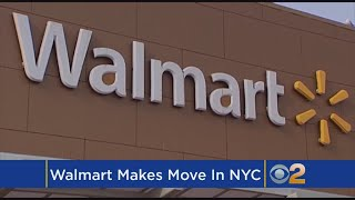 Walmart Makes Plans For New York City