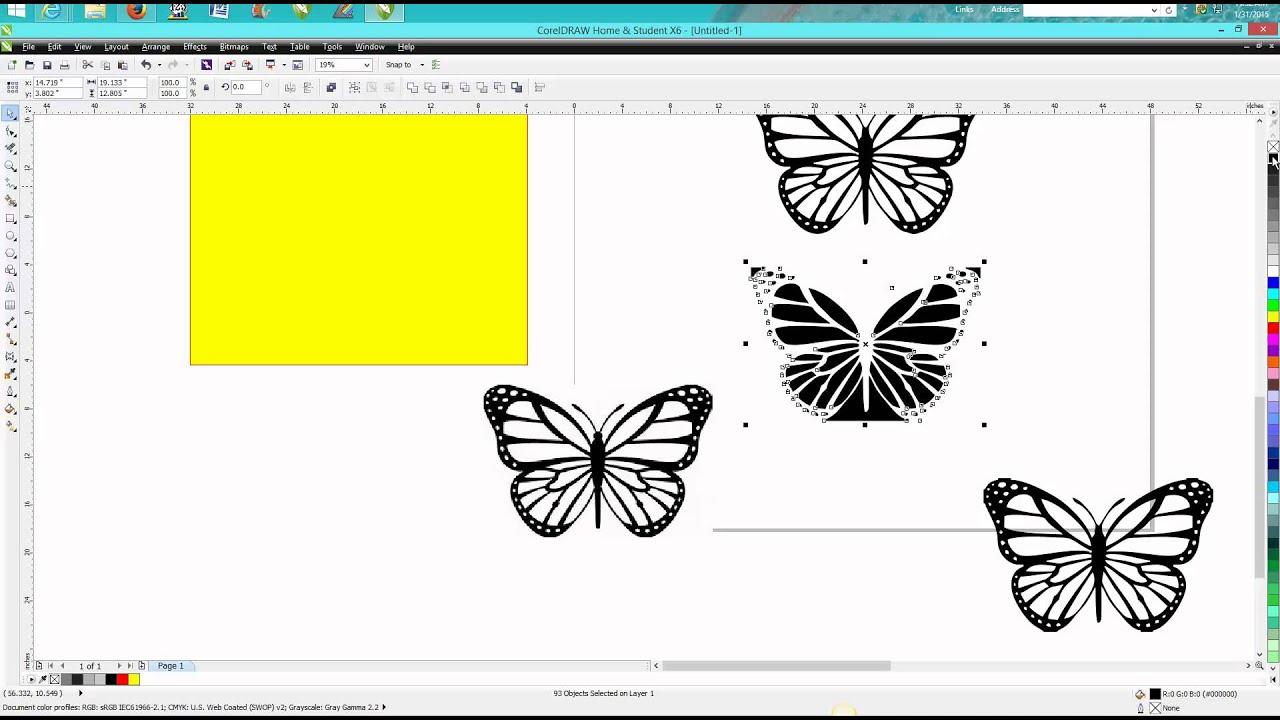 corel draw tips tricks clip art to vector art [ 1280 x 720 Pixel ]