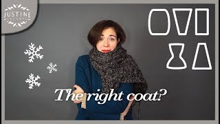 The right coat for your body type | Winter fashion | Justine Leconte