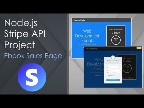 Node.js & Stripe API - Ebook Sales App & Heroku Deploy