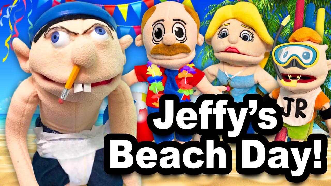 SML YTP: Jeffy's Beach Day!