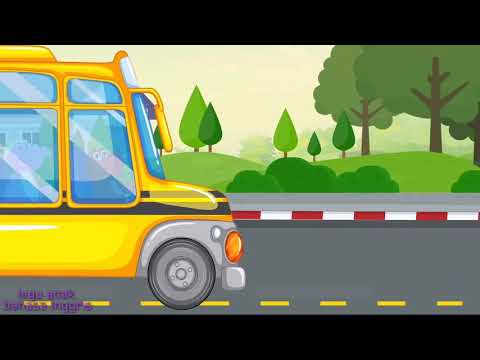 Lagu Anak-anak bahasa Inggris The wheel on the bus