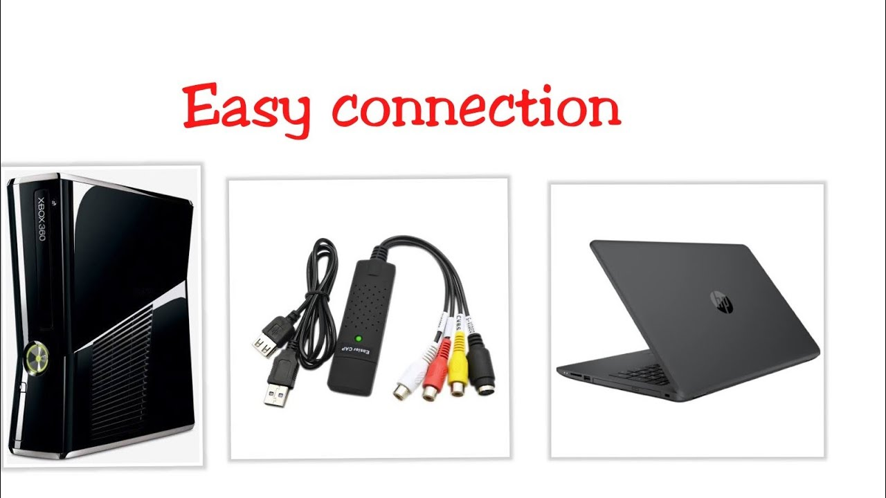 how to connect xbox 360 to pc laptop