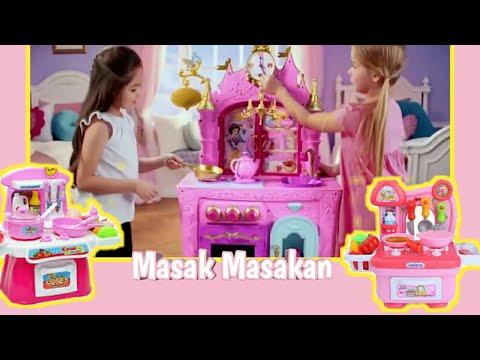 Barbie Masak Masakan Anak Perempuan Masak Memasak