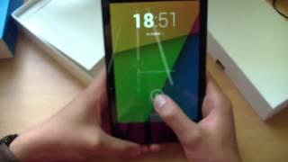 распаковка Asus Nexus 7 32GB, LTE