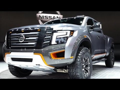 Nissan presenta su poderoso prototipo Titan Warrior  YouTube
