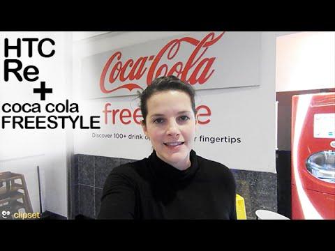 HTC Re Camera + Coca Cola FreeStyle
