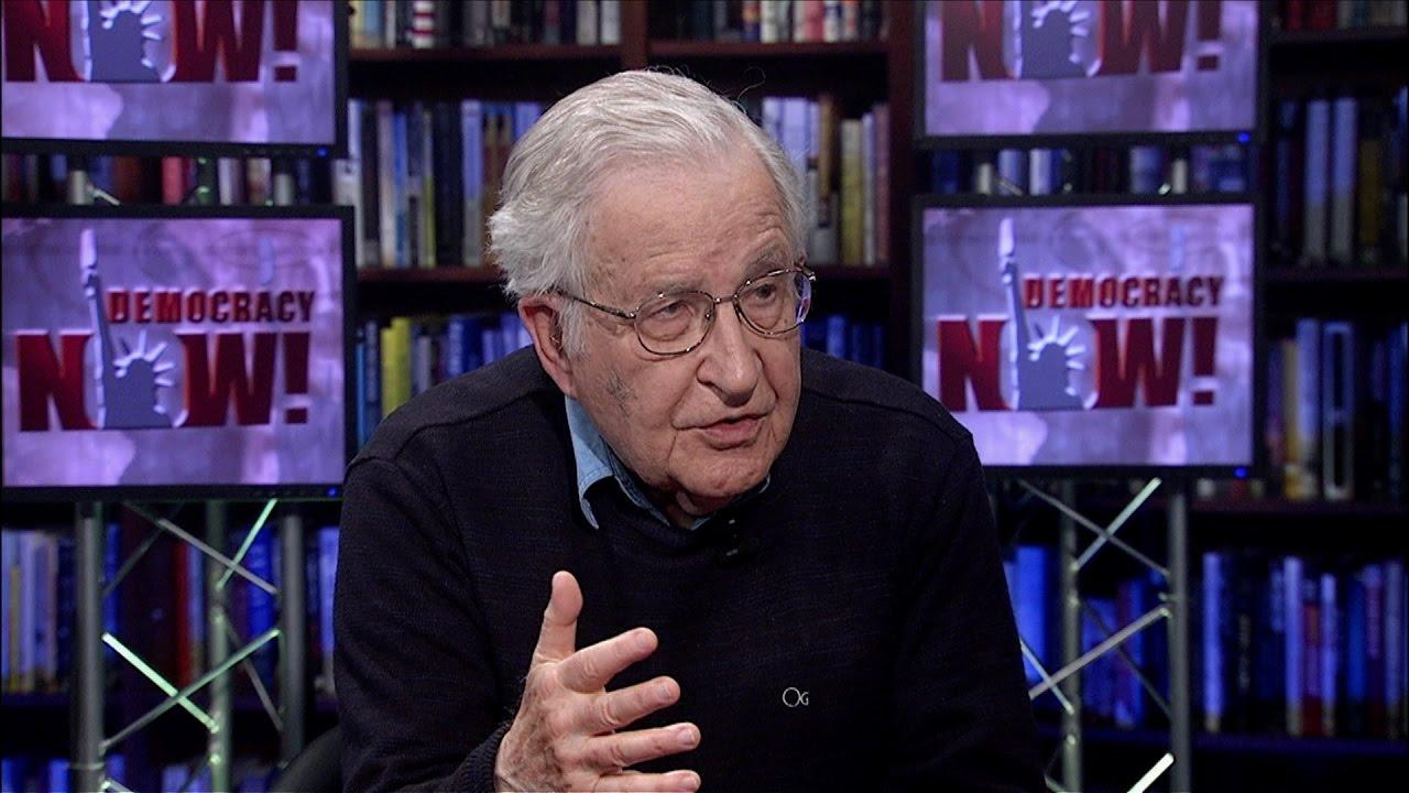 Wawancara Noam Chomsky tentang 'Agama dan Politik'