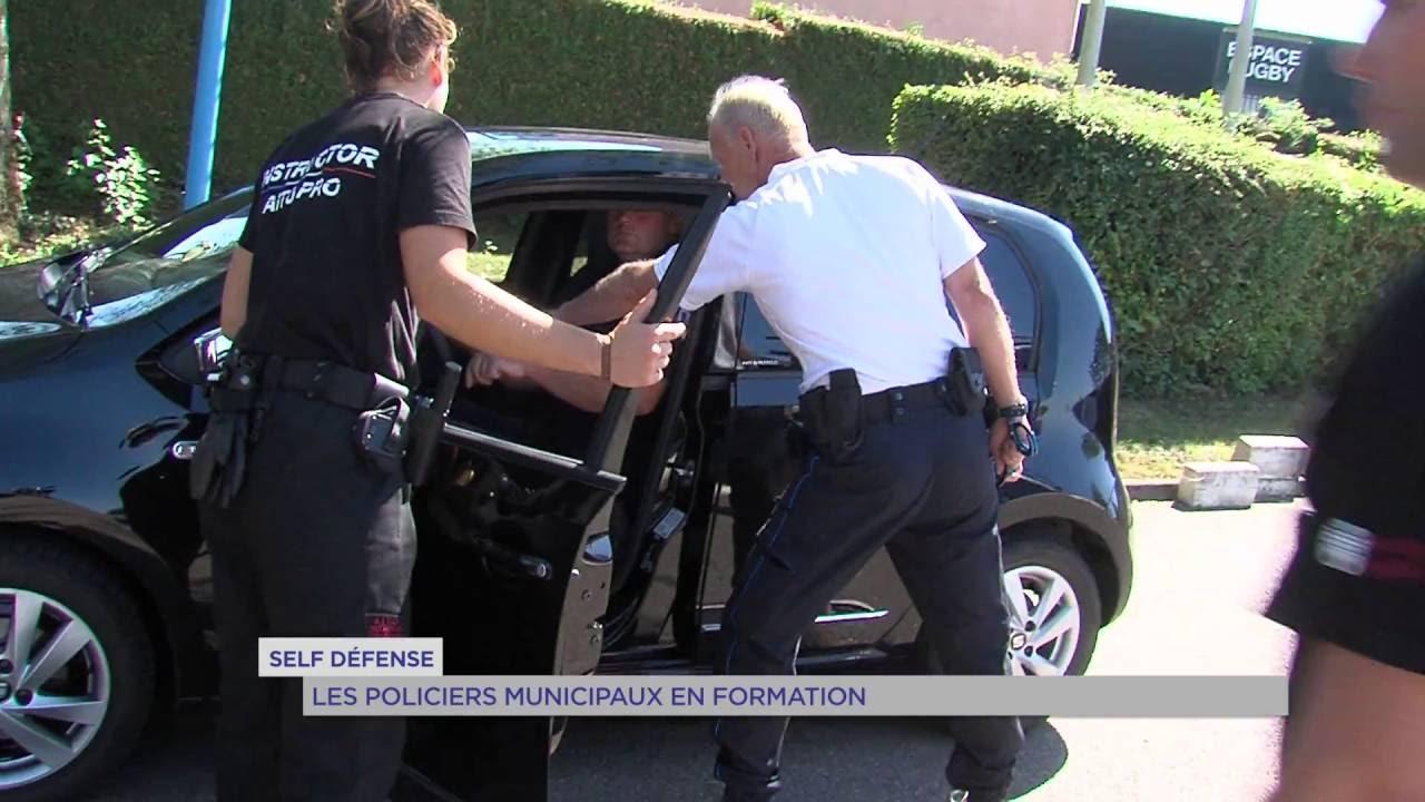 Self-défense : les policiers municipaux en formation