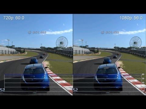 gaming 720p vs 1080i vs 1080p