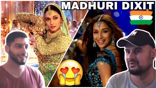 "GERMAN First Reaction to MADHURI DIXIT - Aachle Nachle Song & Devdas ""Maar Daala"" - Bollywood Video"