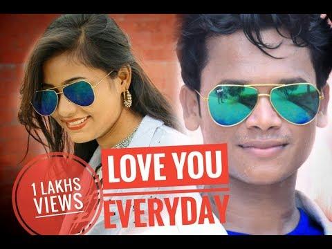 Love you everyday (Tinku & Lipsa) New Sambalpuri hd video 2017