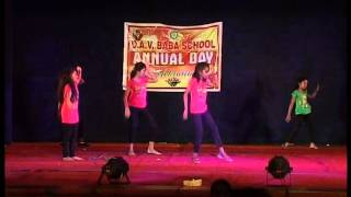 western dance performance by d a v baba senior secondary school students