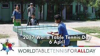 2017 World Table Tennis Day - April 6