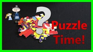 BLAZE Jigsaw Puzzle ~ Let's do a Jigsaw Puzzle! ~ Children's Puzzle Games