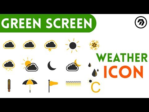 Green Screen weather Icon | mrstheboss