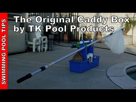 The Original Caddy Box - By TK Pool Products