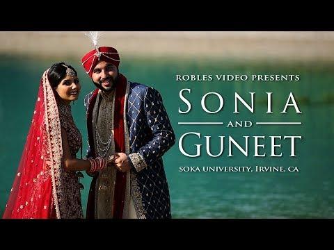 Sonia Gupta & Guneet Singh-Cinematic Wedding Day Highlight (Sikh)