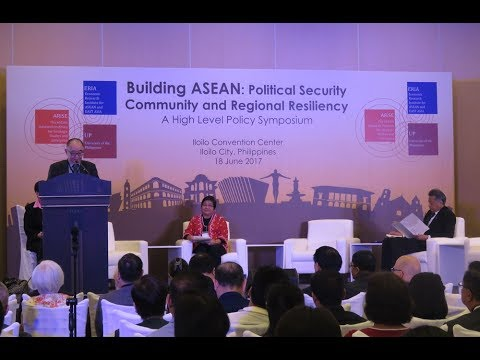 ERIA | ASEAN At 50 | Building ASEAN: Political Security Community And Regional Resiliency