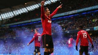 robin van persie free kick vs man city w fans reaction hd