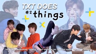 TXT DOES THINGS #2 {TXT CRACK}