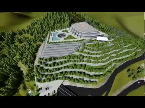 Project Panorama Tbilisi — Sololaki 4-star Hotel (Visualization)