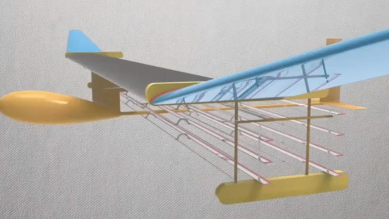 Mit Create A Plane That Flies Without Moving Parts Using Electroaerodynamic Propulsion Youtube