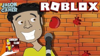 CRICKETS AT THE ROBLOX COMEDY CLUB :(