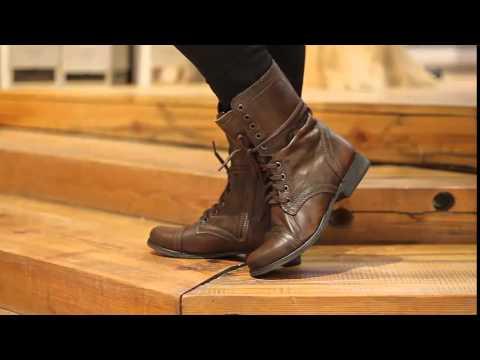 891c0b96cb8 Steve Madden - Troopa in Cognac - YouTube