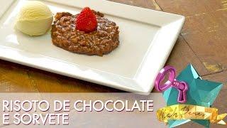 Risoto de Chocolate Super Gostoso