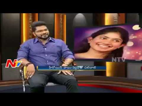 Sai pallavi singing vachinde song in Ntv studio..