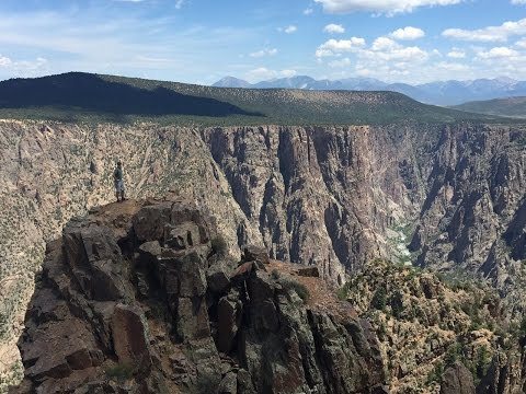Hiking at Black Canyon of the Gunnison National Park