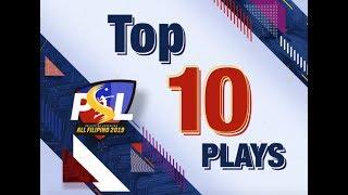 Gambar cover PSL All-Filipino 2019 | Top 10 Plays June