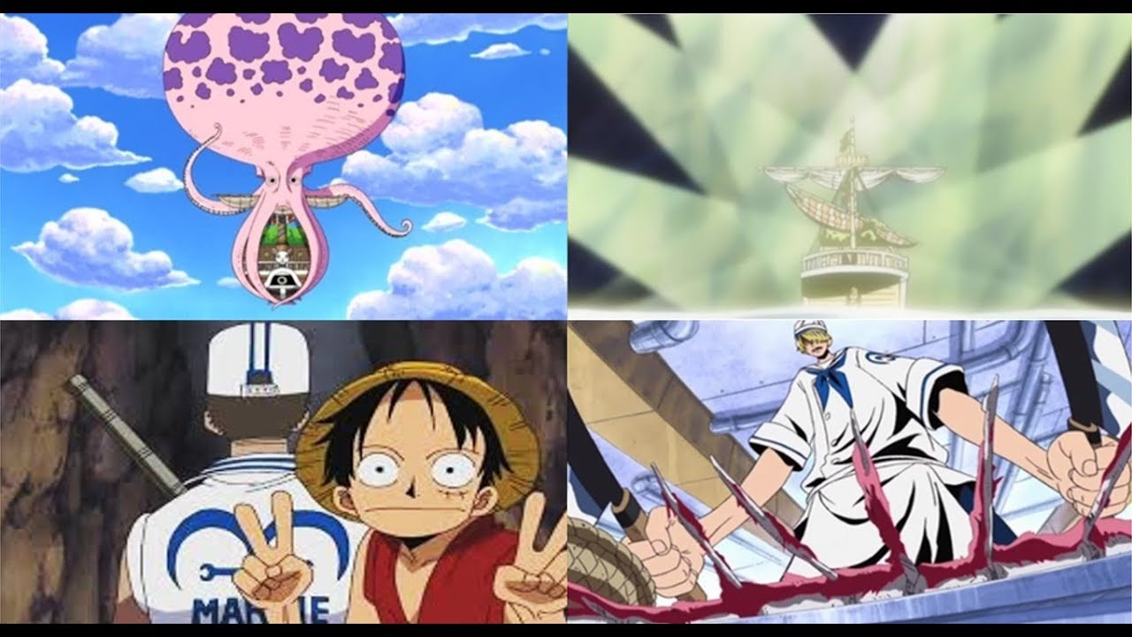 REDIRECT! One Piece: Season 4 Episodes 195, 196 and 197 reaction