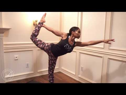 Standing Bow Yoga Pose