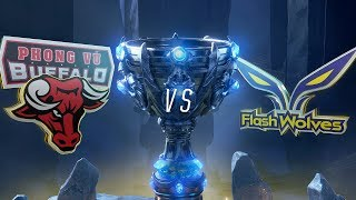 PVB vs FW | Worlds Group Stage Day 1 | Phong Vũ Buffalo vs Flash Wolves (2018)