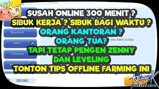 Tips Offline Farming untuk mereka yang sibuk - RO Eternal Love Indonesia