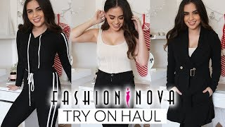 Fashion Nova Winter Try-On Haul // IS IT WORTH THE HYPE? ♡