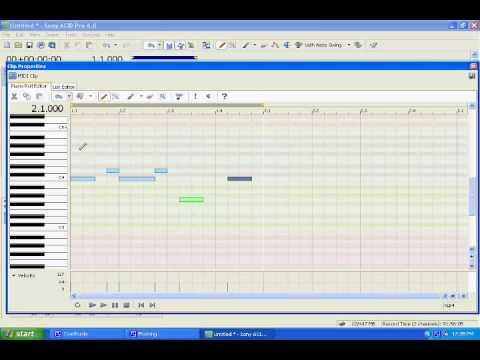 VST-i Tutorial ACID Pro 6.0