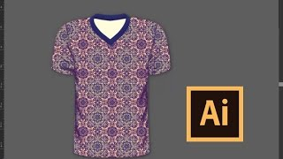 كيفية إنشاء رائع في جميع أنحاء تصميم قميص تي في Illustrator مع تي شيرت بالحجم الطبيعي
