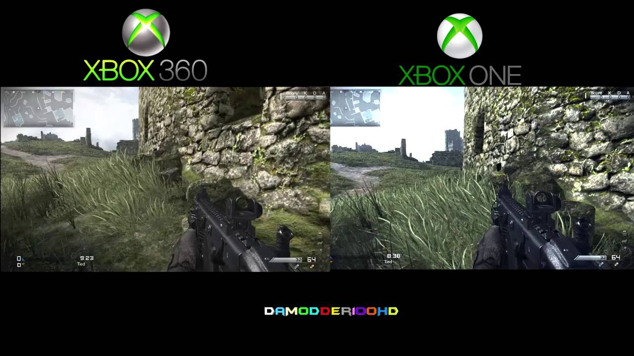 Ghosts: XBOX360 vs.XBO... Xbox One Vs Ps4 Graphics Gta V