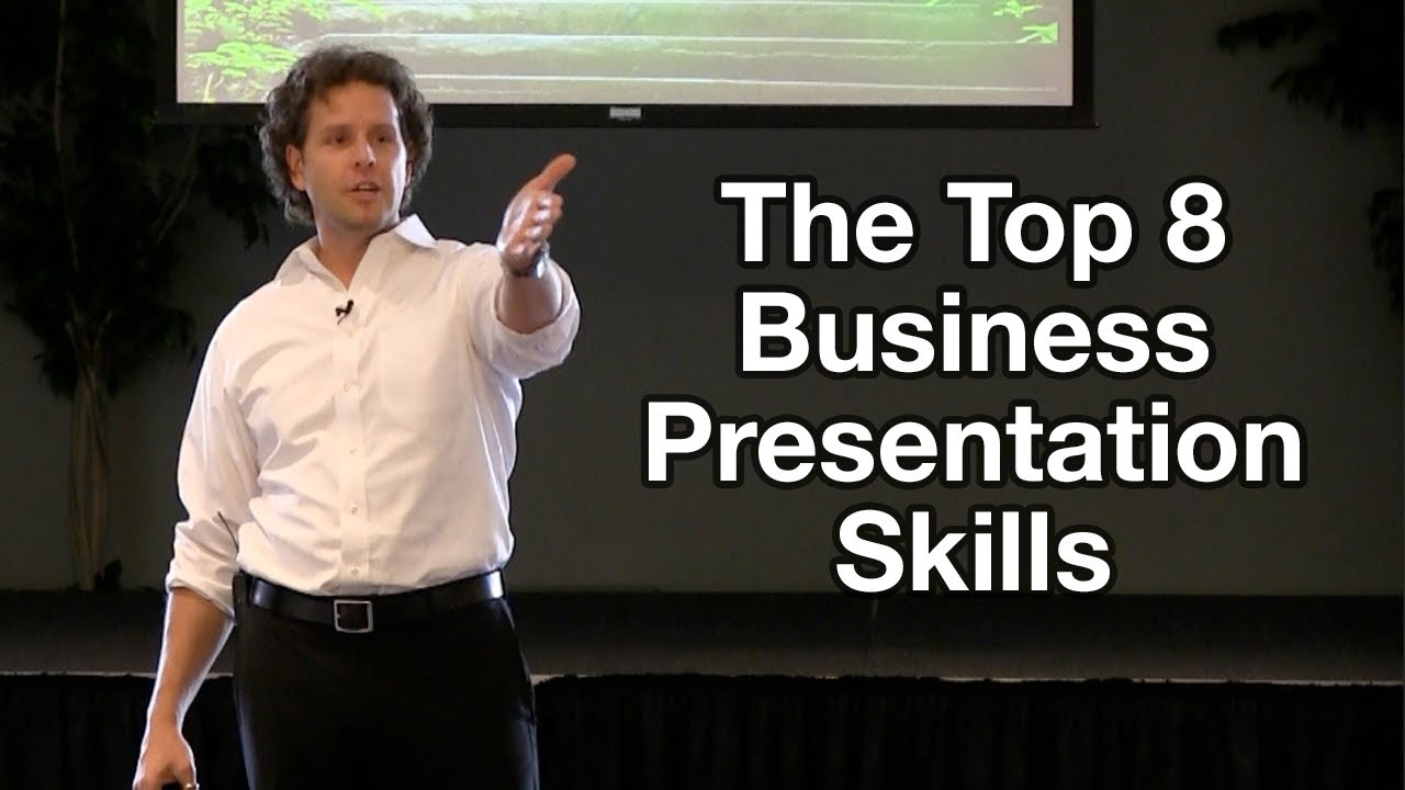 Business presentation skill