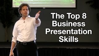 Business Presentation Tips   The Top 8 Business Presentation Skills