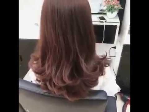 Mẫu tóc xoăn đẹp