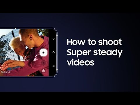 Galaxy A80: How to shoot Super steady video | Samsung