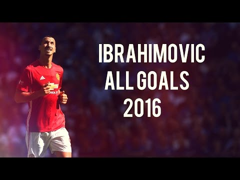 Zlatan Ibrahimovic - All 18 Goals for Manchester United in 2016