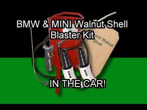 bmw walnut shell blasting machine