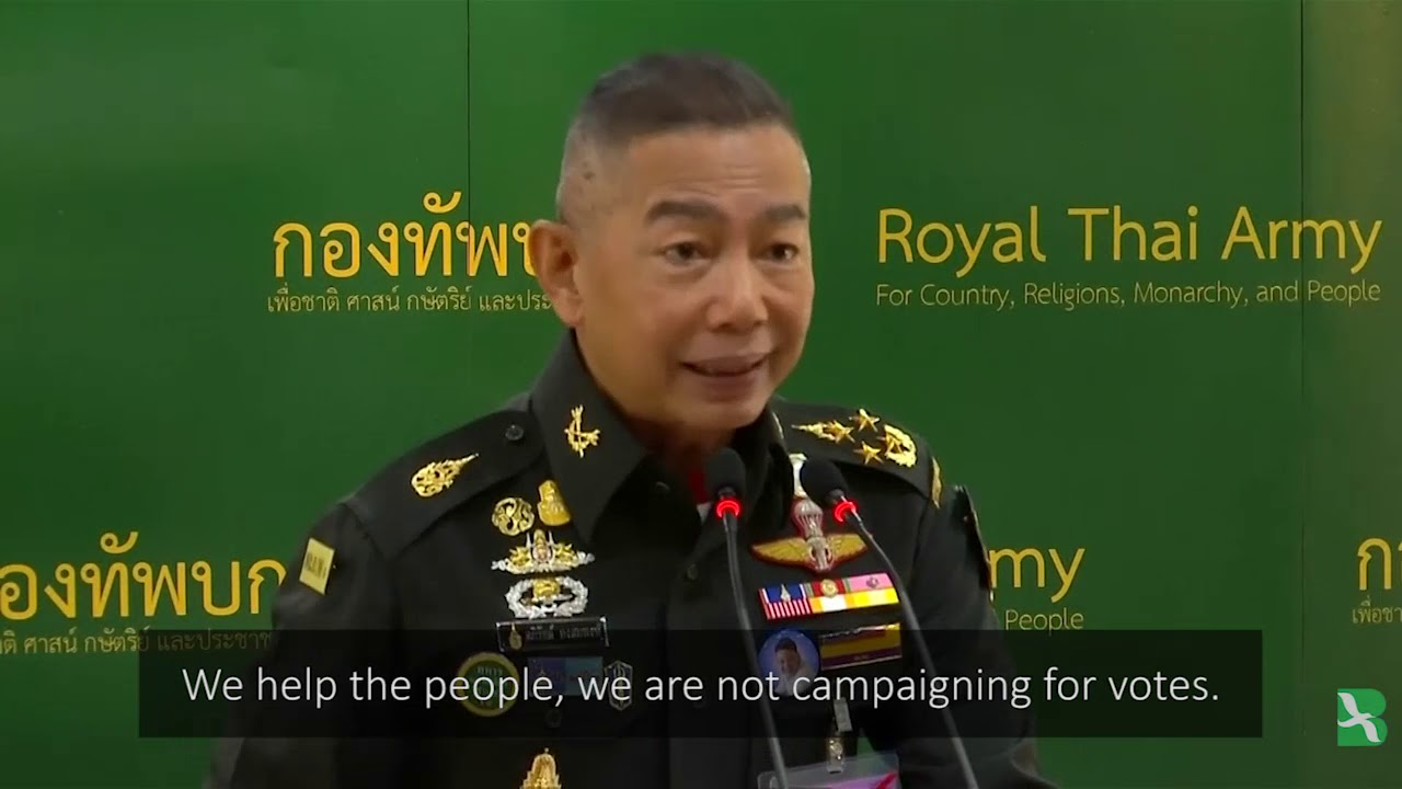 New Thai Army Chief Justifies Past Coups