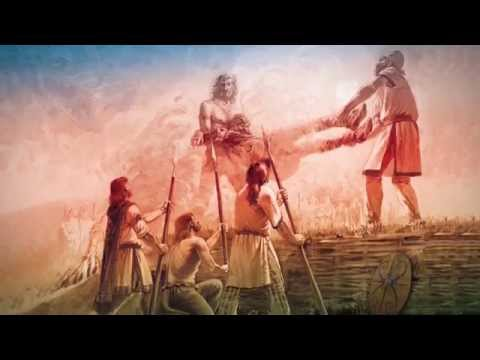 GOD The Barbarian Horde - Glia (Official Lyric Video 2014)